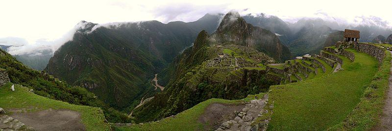 Machu Picchu (Maşa Pişu) Şehri Peru