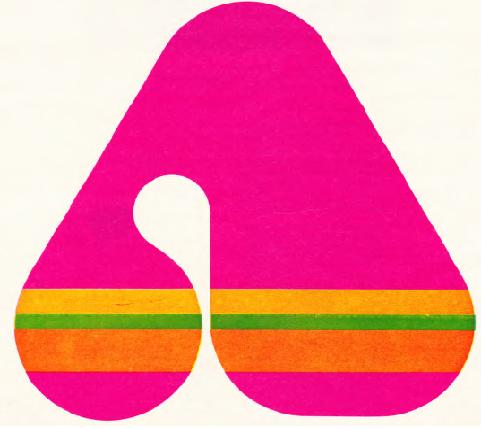 Ayakkabı firmasının ilk harfini gösteren grafik çalışması