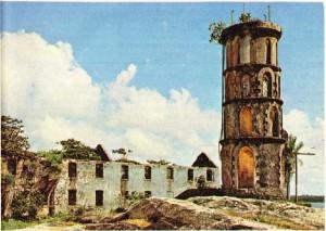 Fransız Guyanası'nda Cayenne Zindanları Kalıntısı