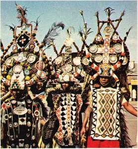 Güney Afrika Cumhuriyeti geleneksel kıyafetler