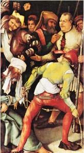Grünewald'ın Hakarete uğramış İsa adlı tablosu