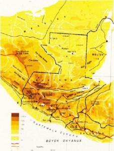 Guatemala Haritası
