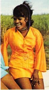 Hint kökenli Guyanalı bir kız