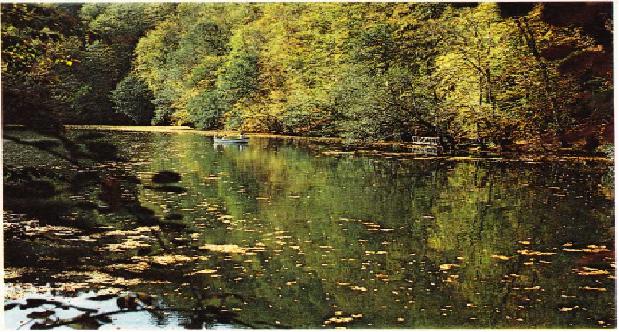 Yedi göllerden bir görünüş