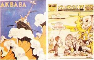 Gülmece Dergileri Akbaba ve Gırgır