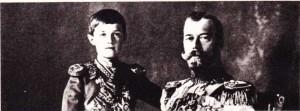 Çar Nikolay II ve hemofili oğlu Çareviç Aleksey