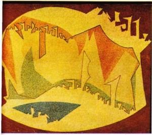 Francis Palanc'ın Mağara adlı yapıtı