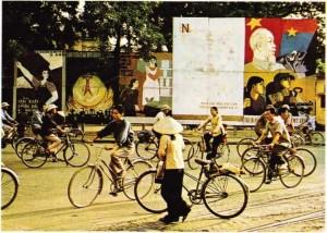 Vietnam'ın Başkenti Hanoi Şehirden bir görünüş.