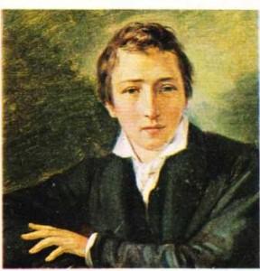 Heinrich Heine'in Oppenheim tarafından yapılmış portresi.