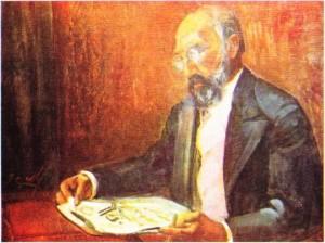Osman Hamdi Bey'in İbrahim Çallı tarafından yapılmış portresi