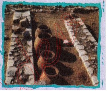 Anadolu Uygarlıklarından kalma toprak çömlekler