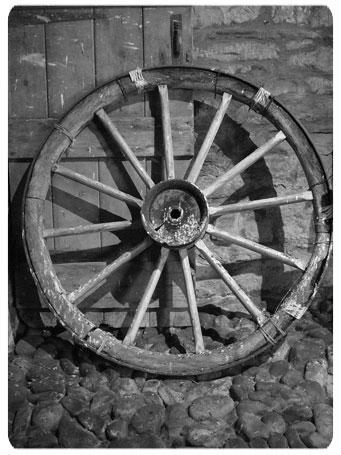 At arabalarında kullanılan tekerlek