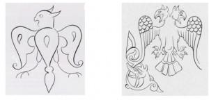 Eski Türklerde kullanılan hayvan figürlerinden kartal