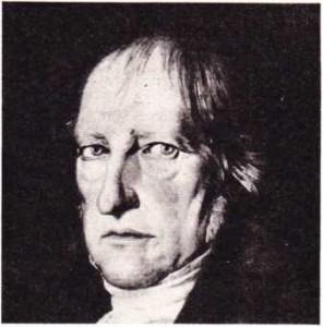 Hegel'in Schlesinger tarafından yapılmış portresi