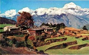 Dhaulagiri'den bir görünüş