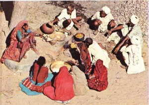 hindistan köylüleri