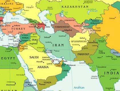 Karahanlılar Gazneliler Büyük Selçuklu devletlerinin yerinde günümüz devletlerl