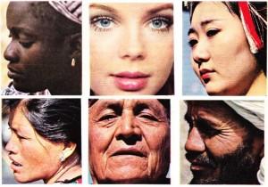 Irkların özellikleri yüzlerinden okunur