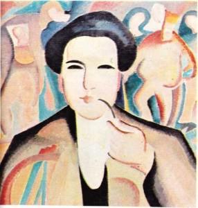 Arthur Honegger'in 1921'de Alice Bailly tarafından yapılmış olan resmi