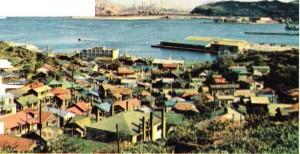 Hokkaido'daki Muroran kentinden bir görünüş