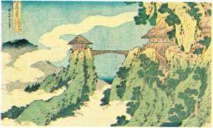 Hokusay'ın Konodrai'nin Görünümü adlı yapıtı