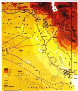 Irak Fiziki Haritası