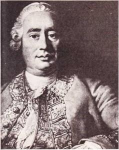 Hume'un Ramsey'in bir tablosundan yapılmış gravürü