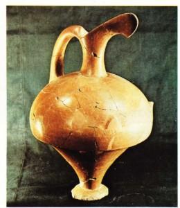 Boğazköy'de bulunmuş bir testi