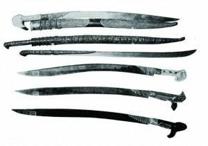 kılıç çeşitleri