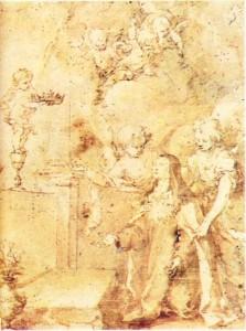 Bartolome Esteban Murillo'nun Azize Teresa'yı konu alan bir yapıtı