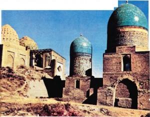 Semerkand'da anıt mezarlar