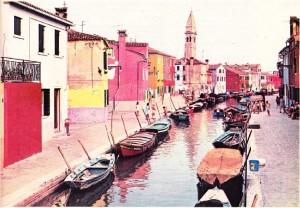 Venedik'te Murano adasından görünüş.
