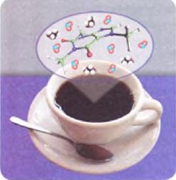 kahve molekülleri