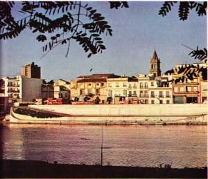 İspanya Guadalguivir'in sol kıyısında uzanan tarihi Sevilla kenti
