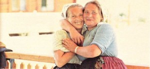 Slav Çek köylü kadınlar