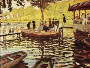 La Grenouillere (Monet)