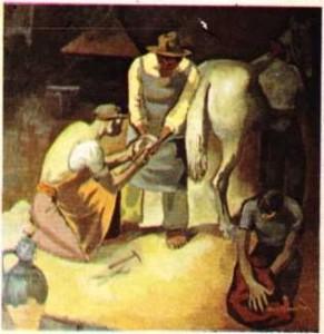 Nuri İyem Nalbant tablosu