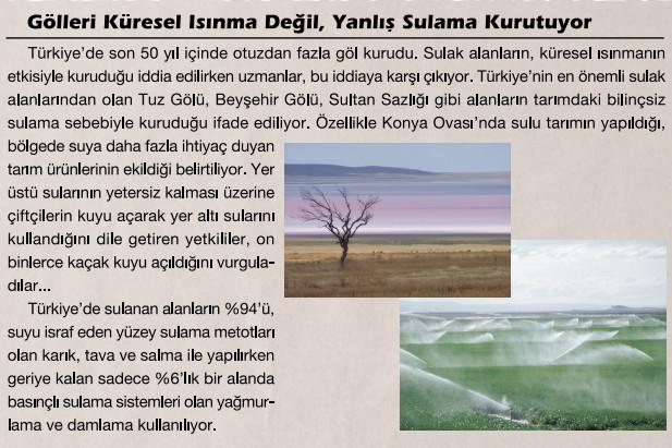doğal kaynakları korumak için