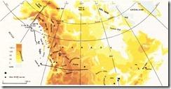 kanada fiziki haritası