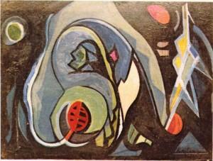 Arif Kaptanın bir tablosu