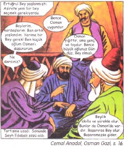 Osman Bey'in seçilişi