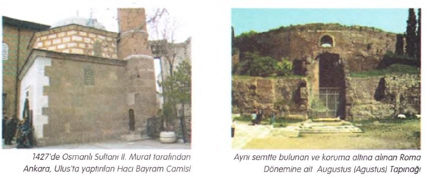 hacı bayram camisi ve Augustus tapınağı