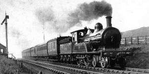 buharlı kara tren