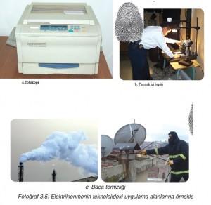 elektriklenmenin teknoloji örnekleri