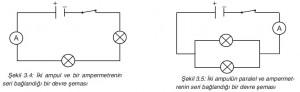 seri ve paralel bağı devre şeması
