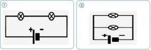 seri ve paralel bağlama şema
