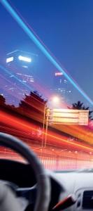 araba sürerken ışığın etkisi