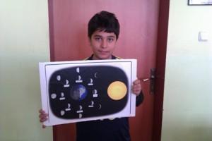 ayın evreleri model çalışması 1
