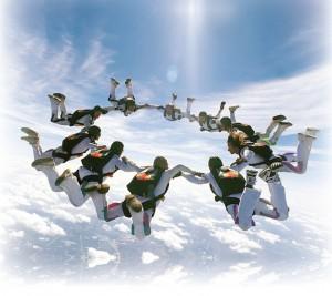 havadali akrobatlar