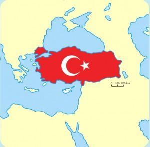 Türkiye coğrafi konum